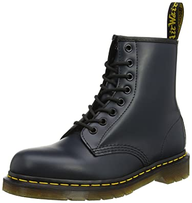 7b800795a09a Dr. Martens Unisex-Adult 1460 Lace-Up Boots Multicolour (Navy 10072410)