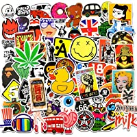 Cool Stickers for Adults and Teens, 100 Packs Car Decals Cute Vinyl Sticker for Laptop, Skateboard,Scrapbook ,Waterproof…