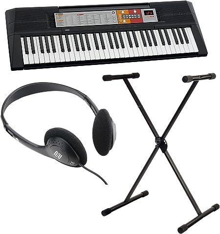 Yamaha PSR-F50 - Conjunto de teclado con soporte y ...
