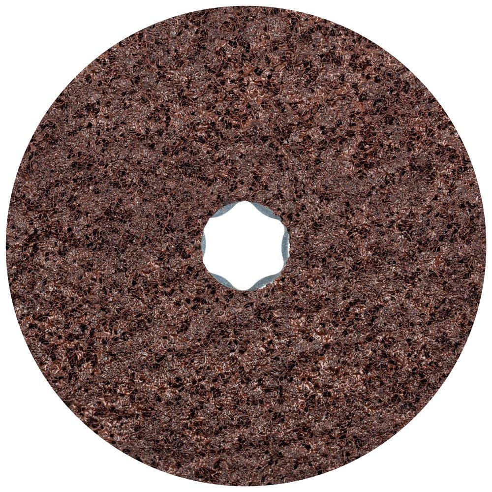PFERD 48110 Combiclick Non-Woven Disc, Hard Type, 5'' Diameter, 9,650 RPM, Coarse Grit (Pack of 10)