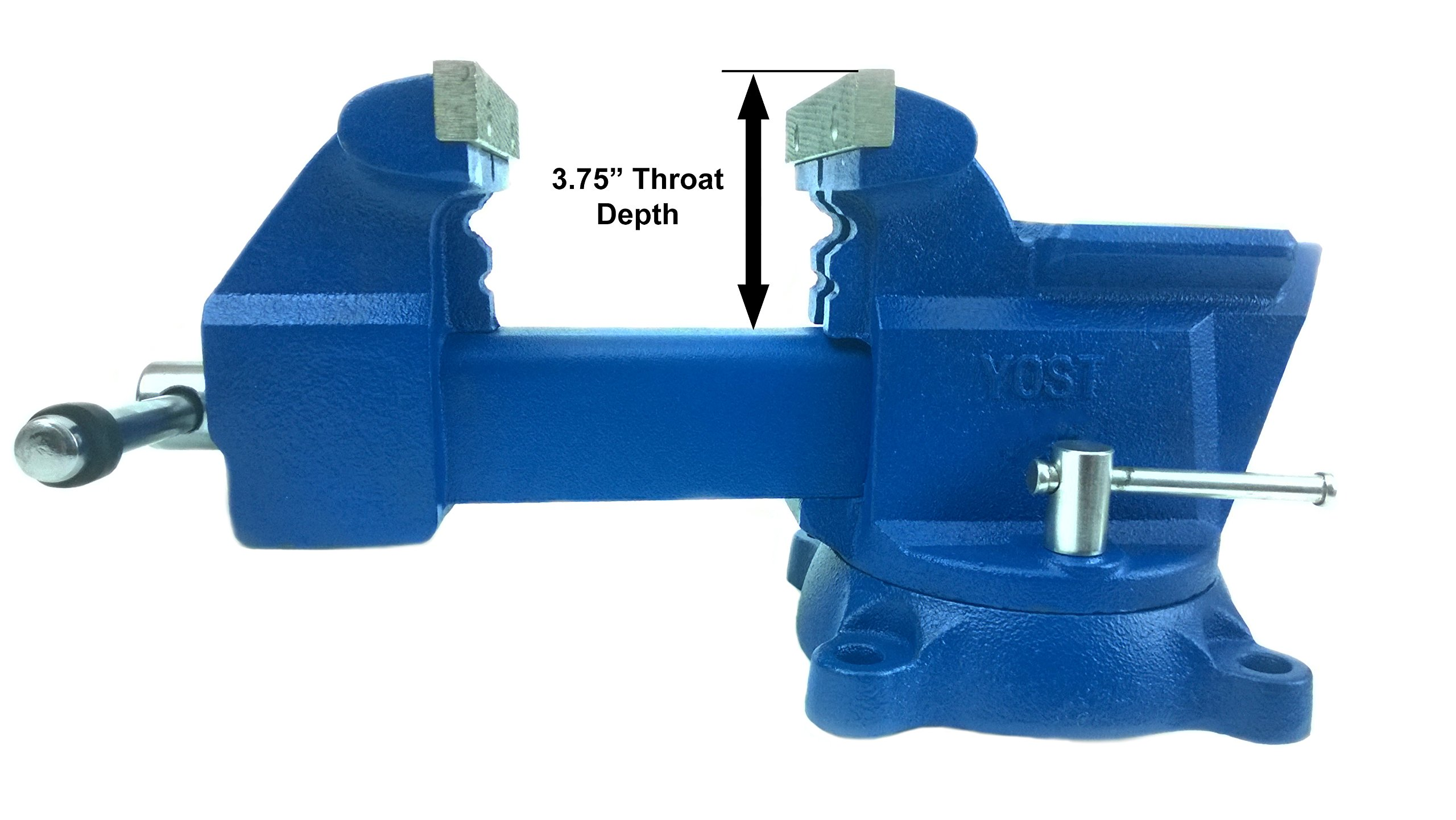 Yost Vises 465 6.5'' Combination Pipe and Bench Vise by Yost Tools (Image #4)