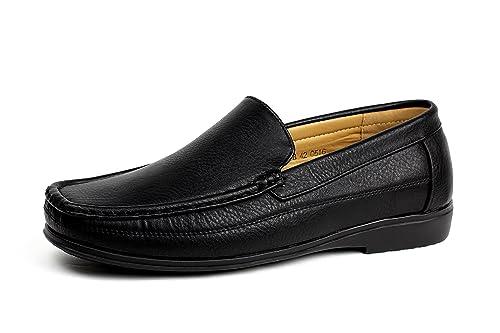 Albertini Caballeros Conducir Antideslizamiento Encendido Estilo Zapatos de Diario Italian Mocasines Barco Baraja Mocasin Size: Amazon.es: Zapatos y ...