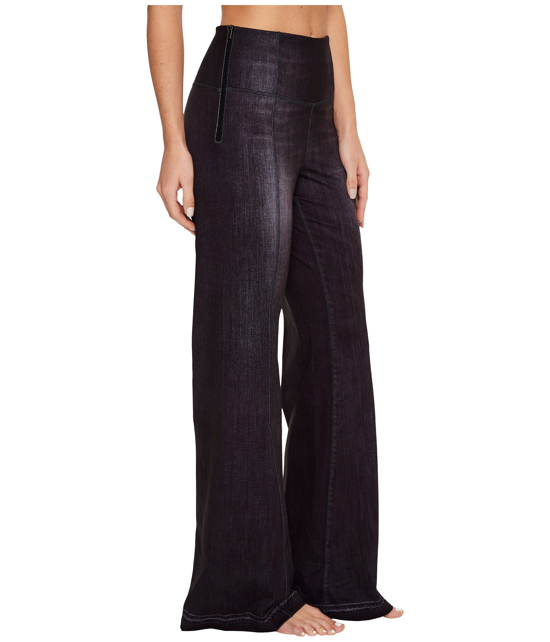 Lucy Women's Indigo Flare Pants Black Indigo Pants by Lucy (Image #5)