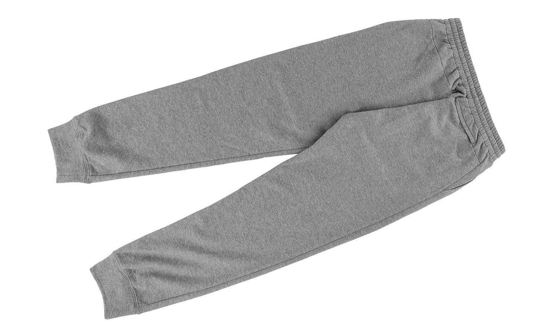 Delantic Logo Fleece Sweatpant US L Grey Melange