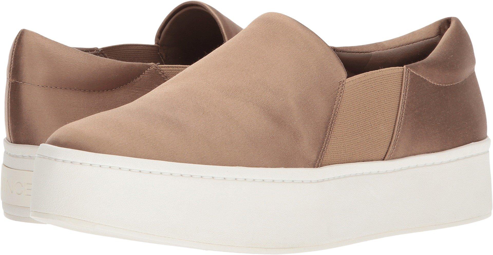 Vince Women's Warren Platform Sneakers, Fawn, 9 B(M) US