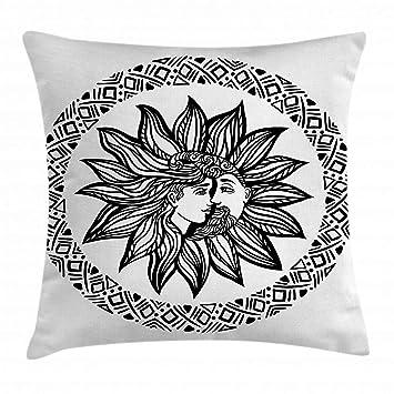 Amazon.com: lunarable sol y luna, para el hogar o la oficina ...