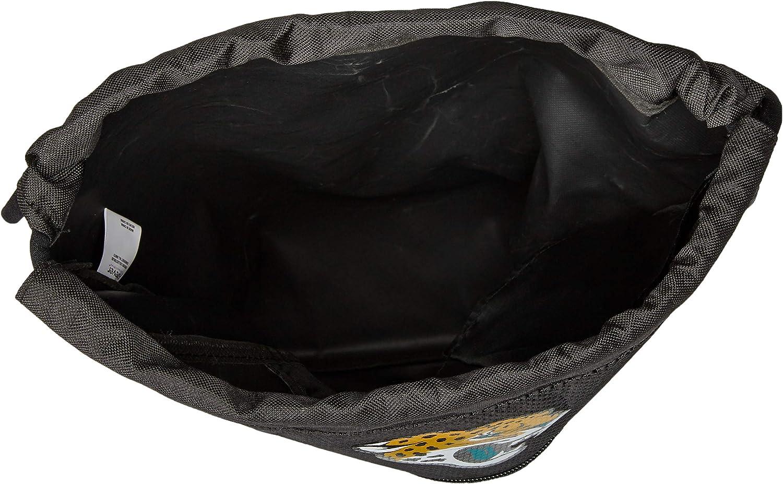 Jacksonville Jaguars Big Stripe Zipper Drawstring Backpack