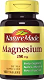 海外直送品Nature Made Magnesium, 250 mg, 100 tabs by Nature Made