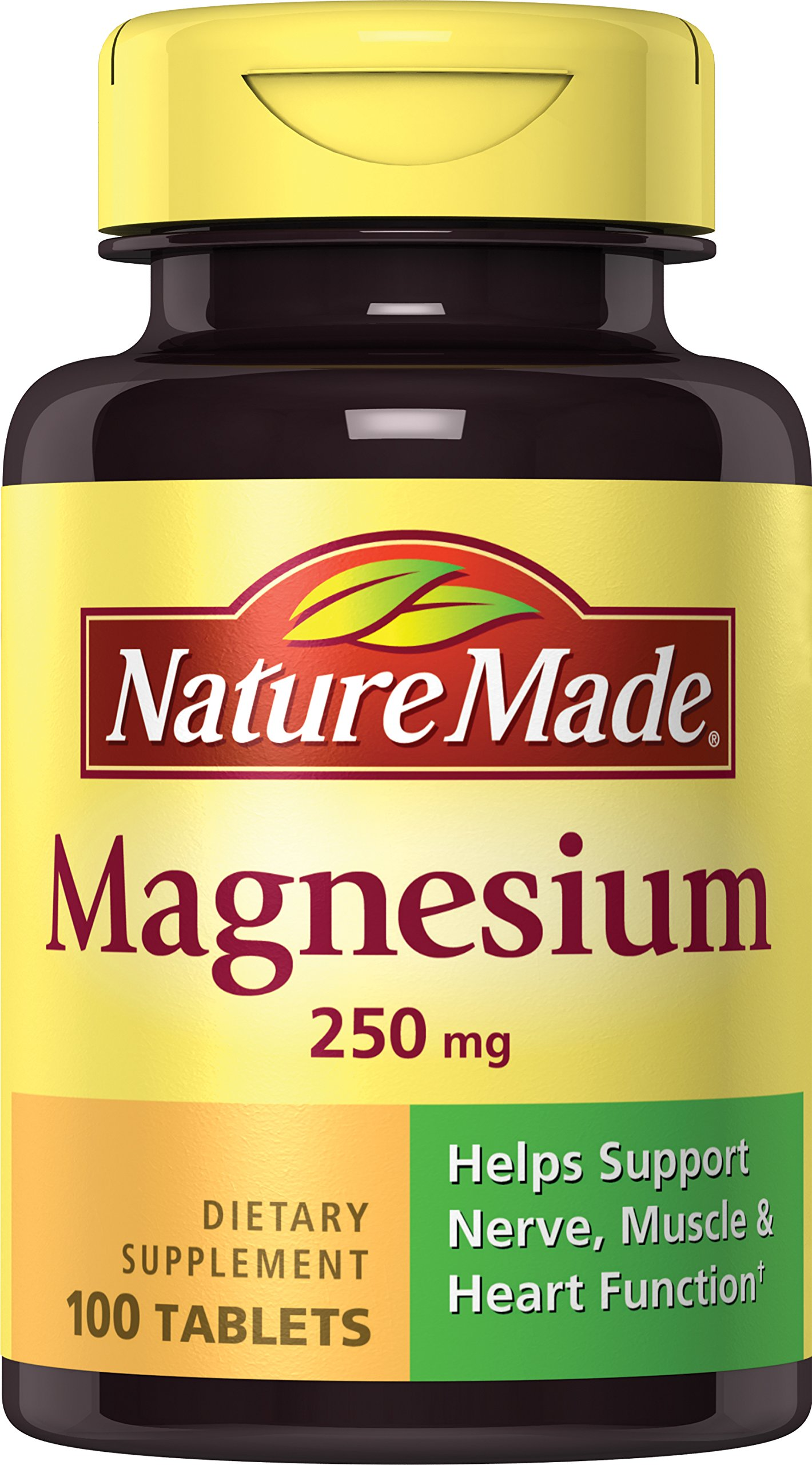 Nature Made Magnesium (Oxide) 250 mg Tablets 100 Ct product image
