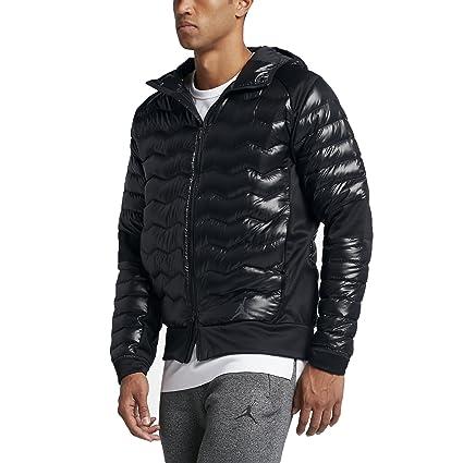Nike Jordan Perf Hybrid DWN JKT Chaqueta, Hombre, Negro ...