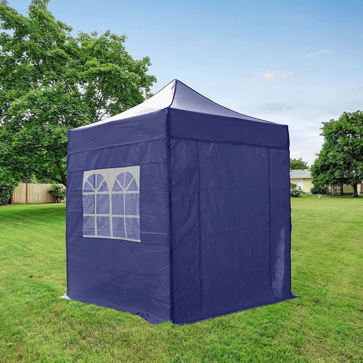 AIRWAVE SJ062301B - Gazebo, Color Azul: Amazon.es: Jardín