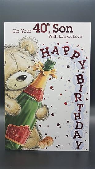 40th Son Birthday Card