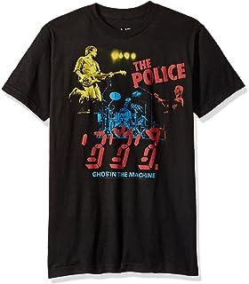 36463ad01 Amazon.com: The Police Men's Music Short Sleeve Graphic T-Shirt ...