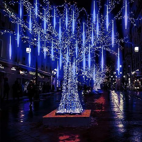Wasserdicht outdoor 30cm LED Meteor Light Schneefall Regen Dusche Lampe 8 Tubes