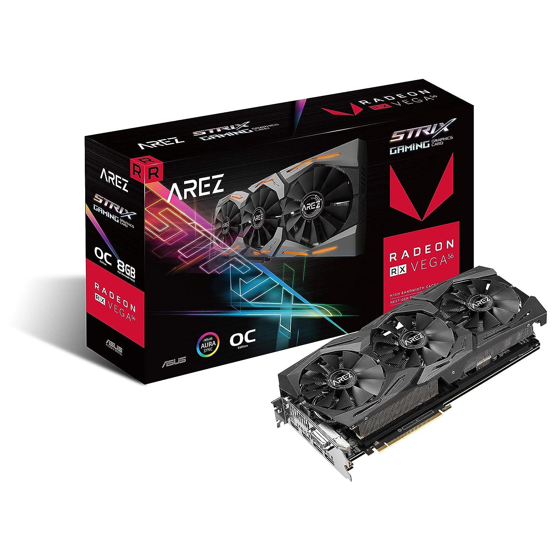 AREZ -STRIX-RXVEGA56-O8G-GAMING Radeon RX Vega 56 8 GB Memoria de alto ancho de banda de segunda generación (HBM2)
