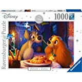 Ravensburger 13972 Disney Moments 1955 Lady and Tramp 1000 Pieces Puzzle
