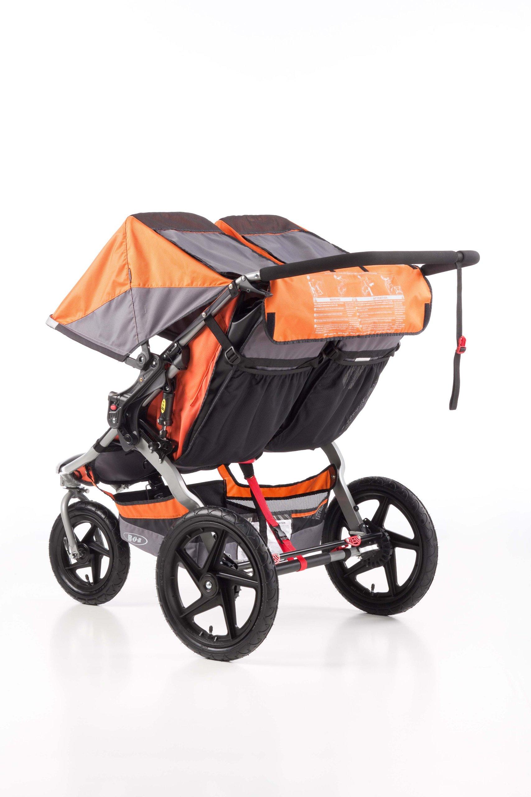 BOB Revolution SE Duallie Double Stroller Orange - My ...