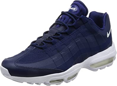 50% price online shop separation shoes Nike Air Max '95 Ultra Essential, Sneakers Basses Homme, Bleu ...