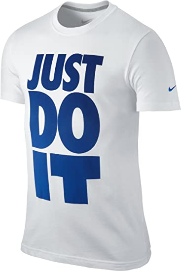 nike t shirt just do it herren