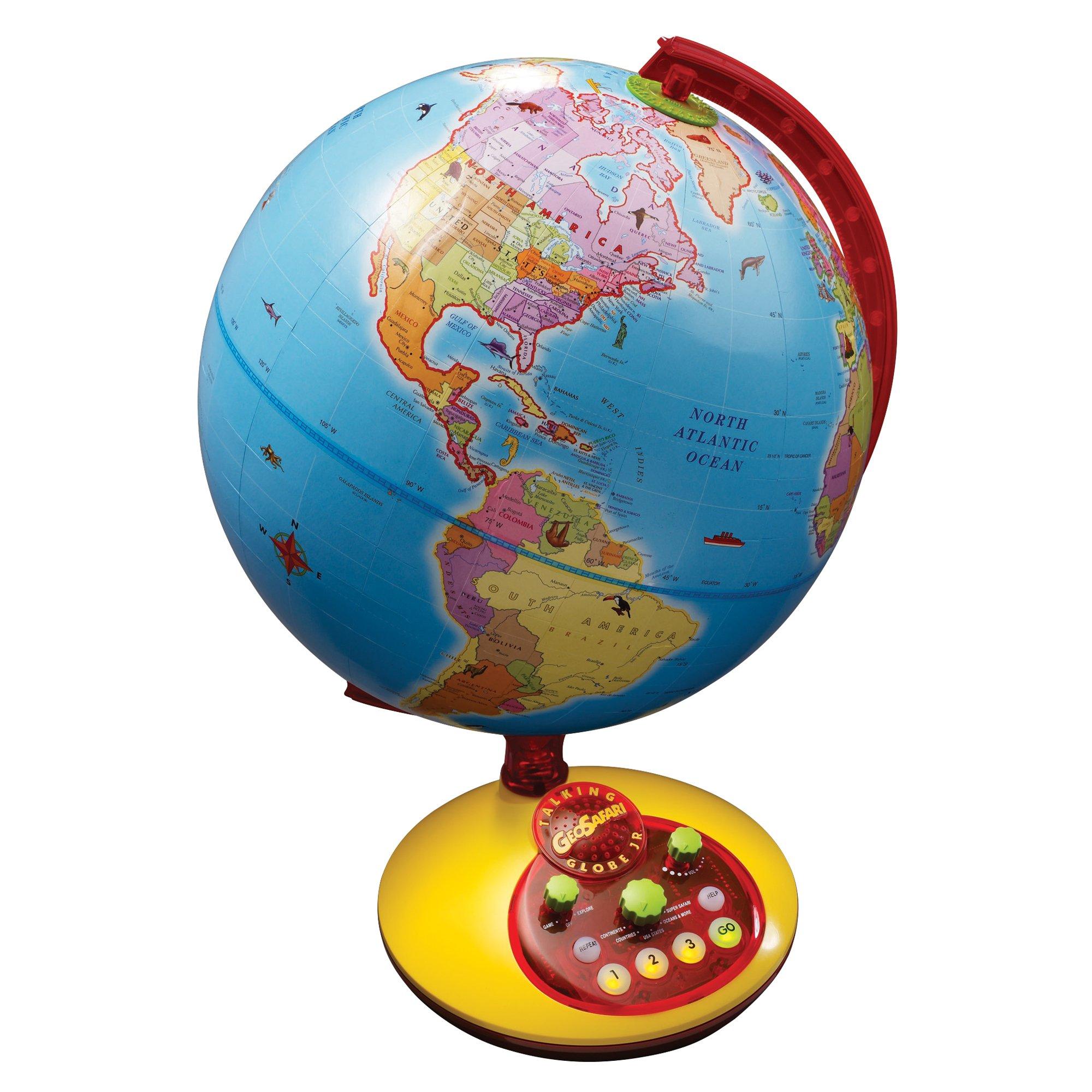 Educational Insights GeoSafari Jr. Talking Globe Junior by Educational Insights
