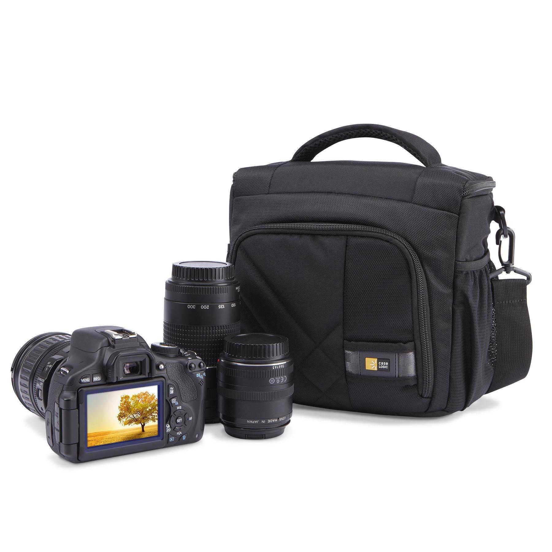 Case Logic CPL-106 DSLR Camera Shoulder Bag, Medium (Black)