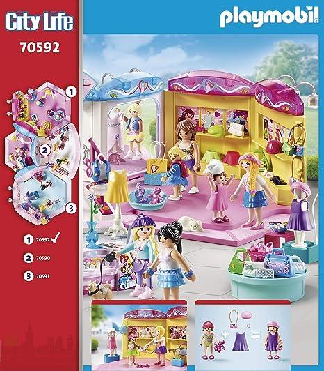 PLAYMOBIL City Life 70592 Tienda de Moda, Para niños de 5 a 12 años