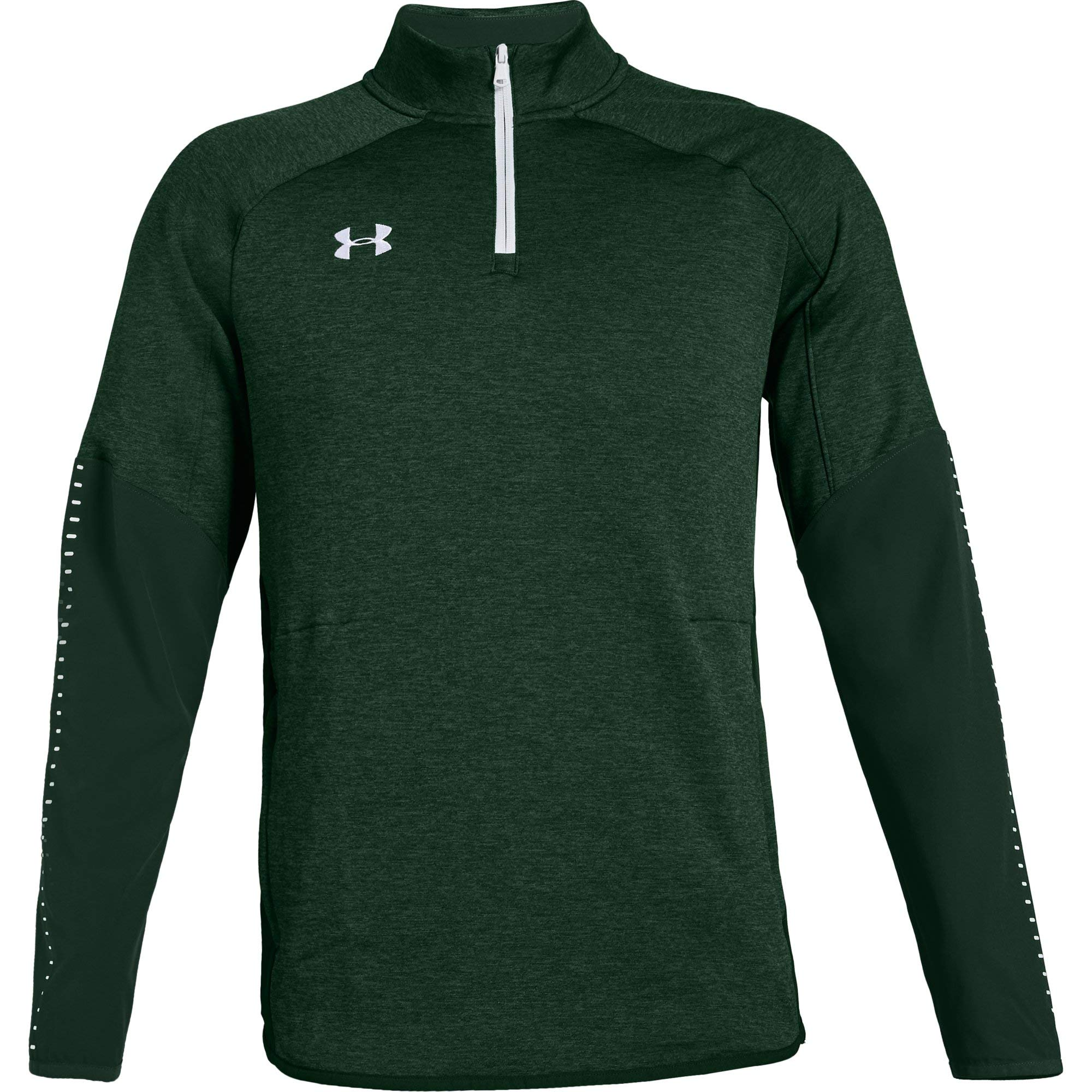 Under Armour Men's UA Qualifier Hybrid 1/4 Zip Long Sleeve (XX-Large, Forest Green)