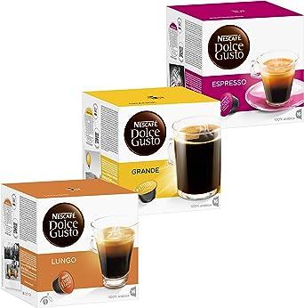 Nescafé Dolce Gusto Set Classic: Lungo, Espresso, Crema Grande ...