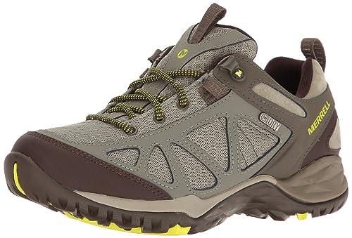 Merrell Women's Siren Sport Q2 Waterproof Hiking Shoe, Dusty Olive, 7.5 W US