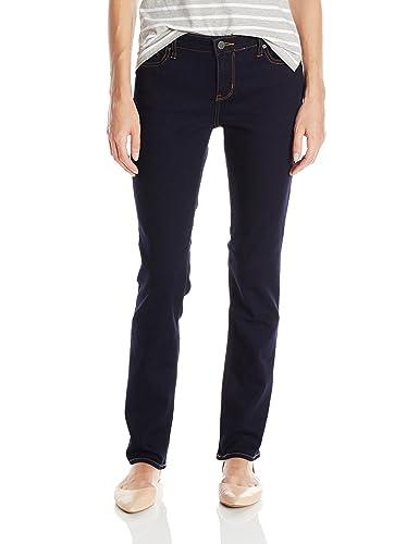 Calvin Klein Jeans Women's Straight Leg Jean, Dark Rinse, 27x32