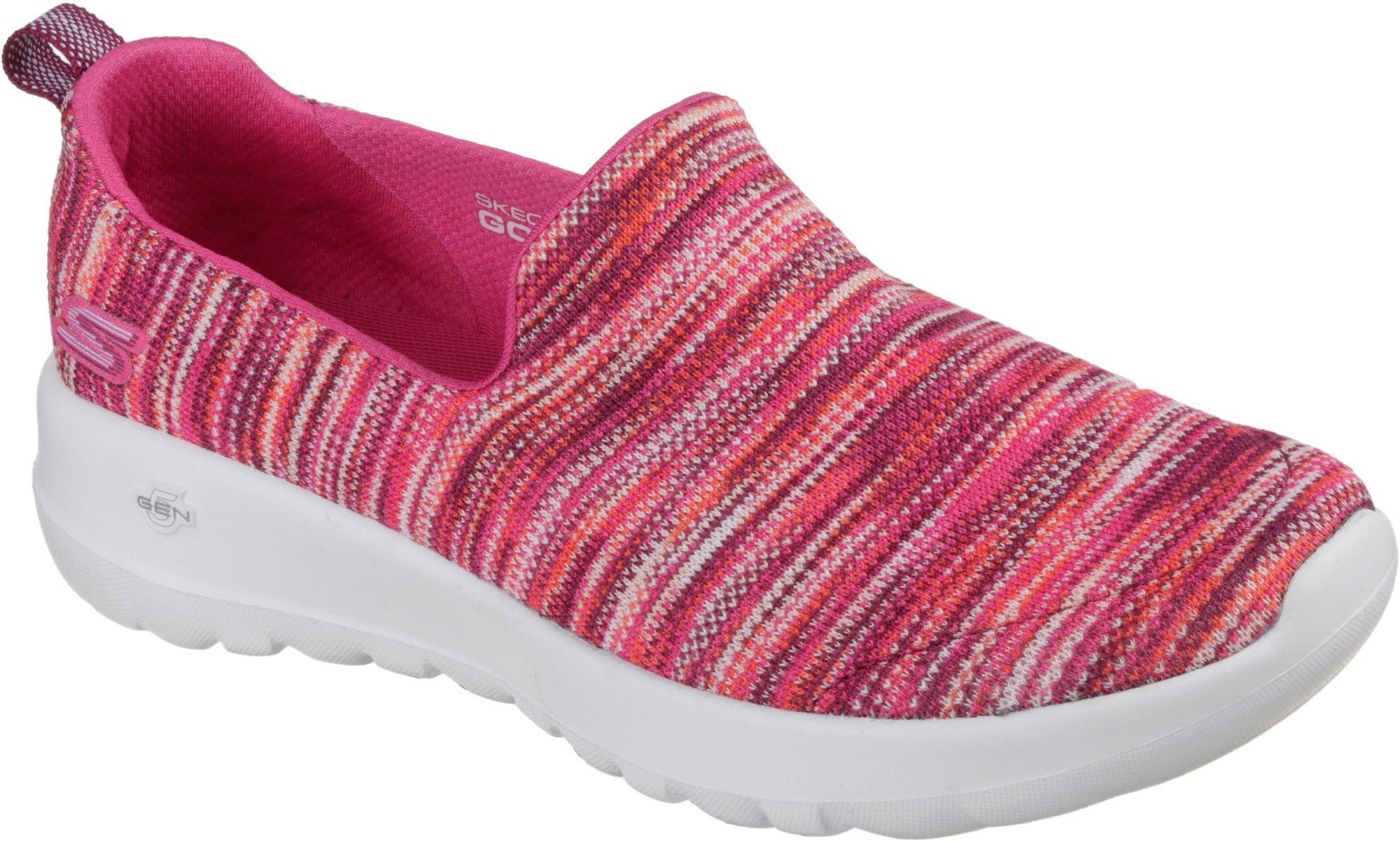 Skechers Performance Women's Go Walk Joy-15615 Sneaker,Pink/Multi,8 M US
