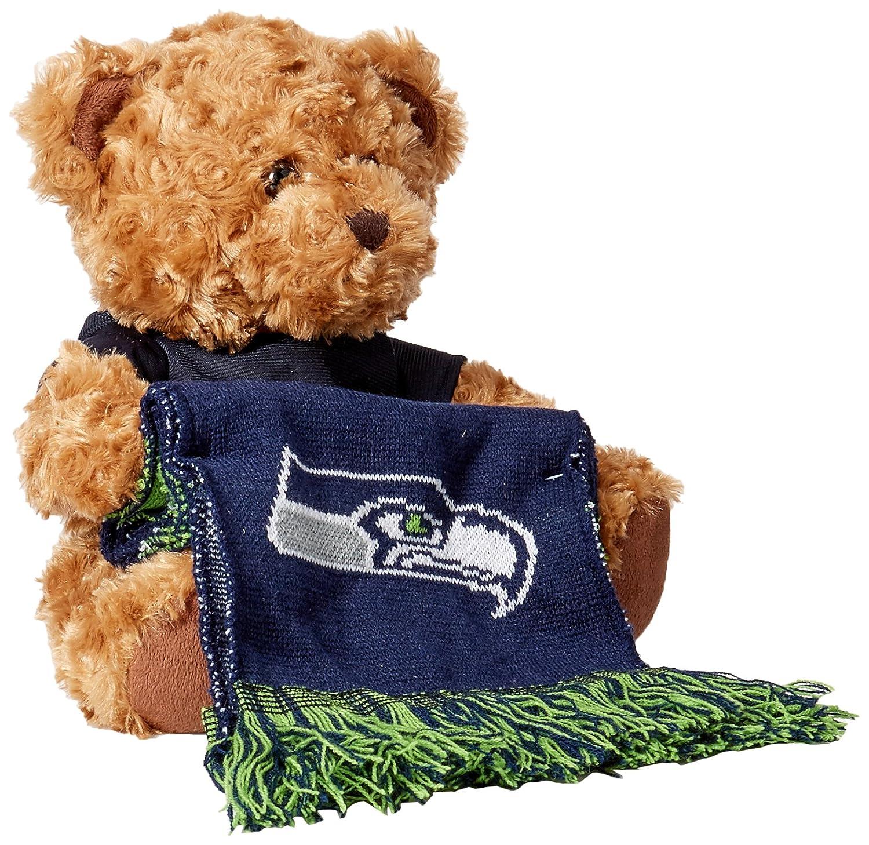 独創的 NFLシアトルシーホークスPlush Bear Bear with with Scarf ,グリーン ,グリーン B00OP8UDNM, BROOX YOGA:f7249737 --- movellplanejado.com.br