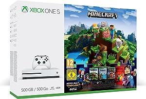 Xbox One - Consola S De 500 GB + Minecraft +3M Live Gold