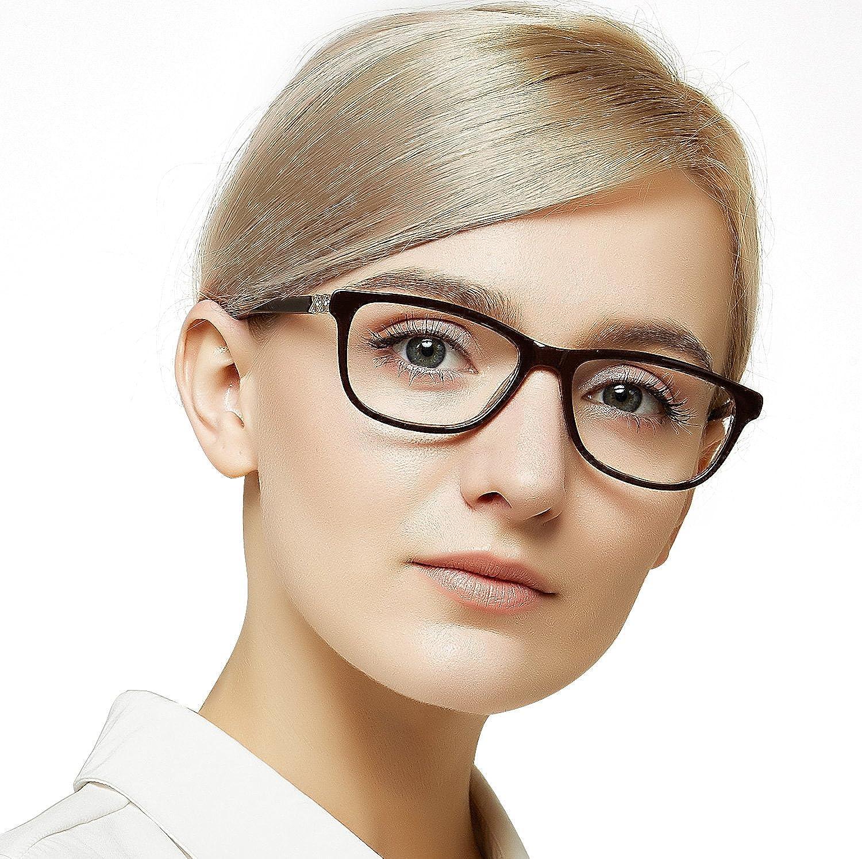 OCCI CHIARI Non-Prescription Eyewear Frame Rectangular Computer Eyeglasses