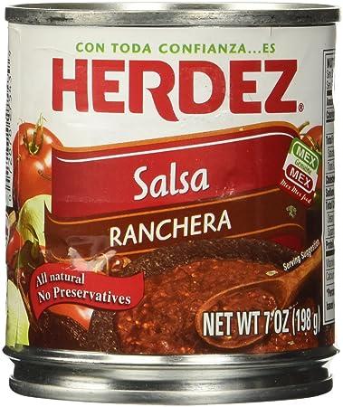 Herdez Ranchero Salsa, 7 oz