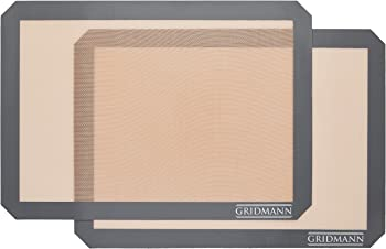GRIDMANN Set of 2 Pro Silicone Baking Mat