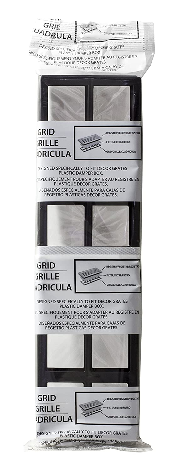 Amazon.com: Decor Grates FRP414 Pristene Air Filter Retainer For Decor Grates Registers, 4