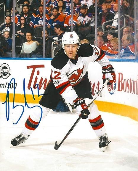 Autographed Ben Lovejoy Photograph - 8X10 w COA A - Autographed NHL ... 2e1ce85f6ba