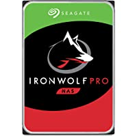 "Seagate 12 TB IronWolf Pro Disque dur interne 3.5"" pour NAS 1-24 Bay (7200 RPM, 256 MB Cache, 300 TB/year Workload Rating, Up to 214 MB/s, Model: ST12000NEZ007/NE0007)"
