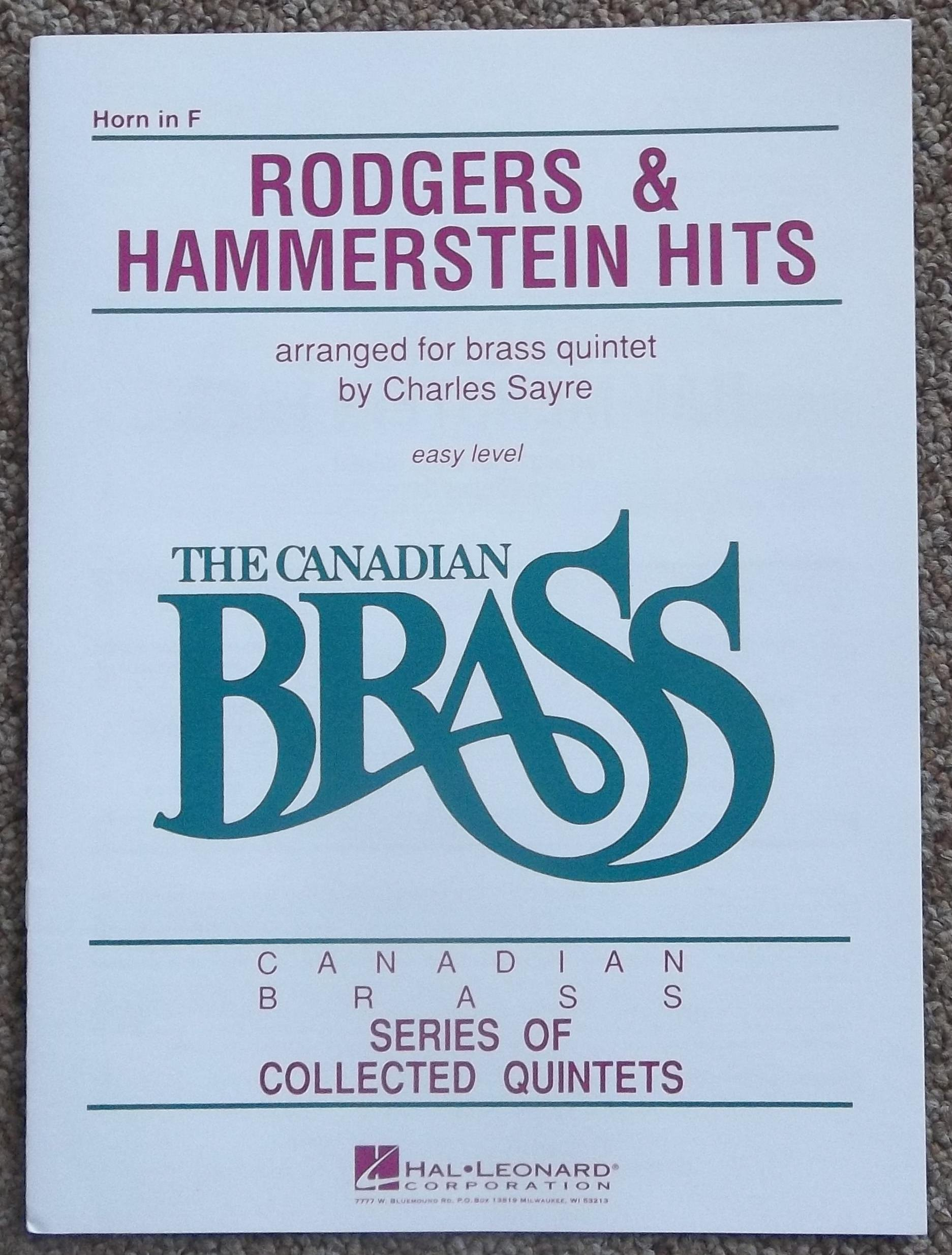 The Canadian Brass - Rodgers & Hammerstein Hits French Horn