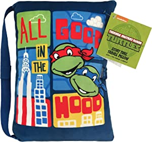 Jay Franco Nickelodeon Teenage Mutant Ninja Turtles Plush Story Time Pillow