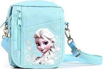 Disney Frozen Detachable Lanyard Messenger Shoulder Bag (SNOW BLUE)