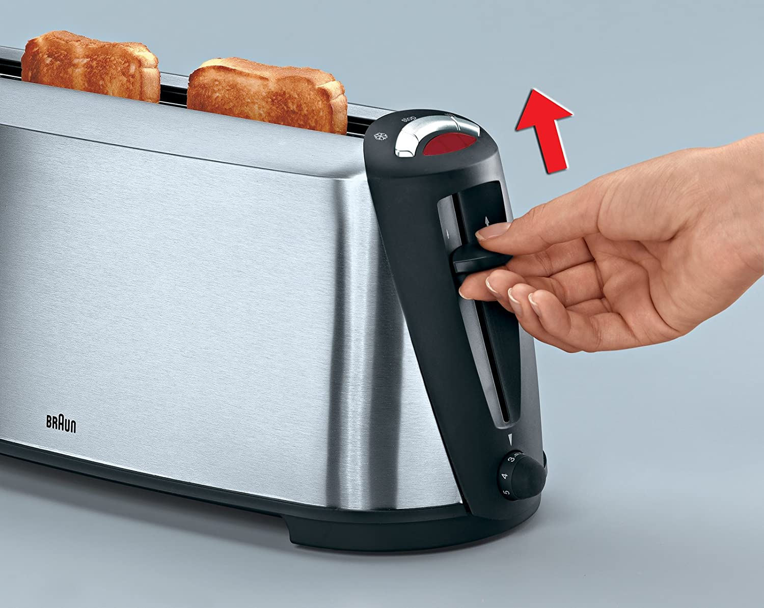Braun HT600 Sommelier Stainless Steel Toaster, 220-volts (Will Not ...