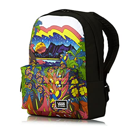 6707aa6f67 Vans Realm Classic Backpack - Punta Bella VA34G7M00  Amazon.co.uk ...