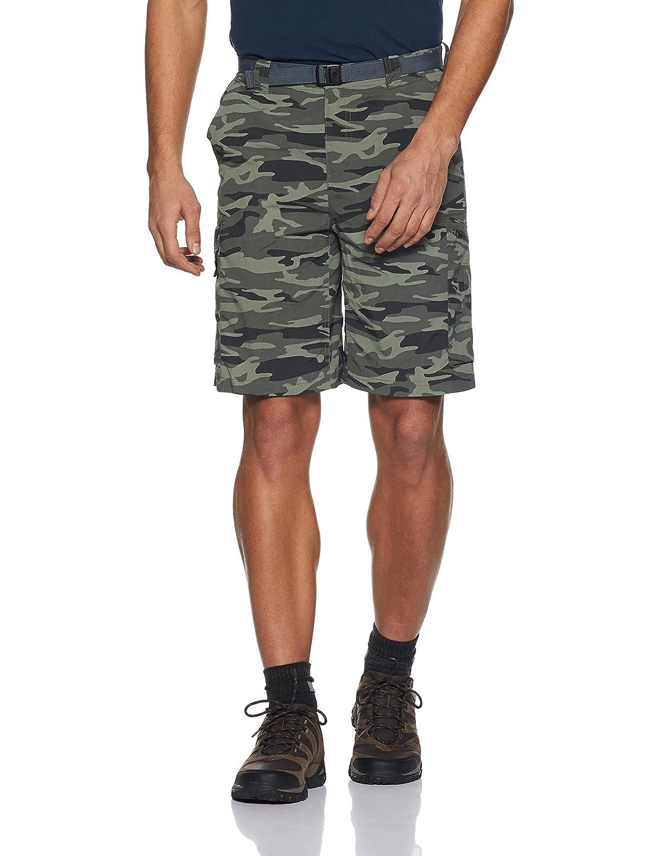 Columbia Men's Silver Ridge Cargo Shorts-Gravel Camouflage Print, Size 30/12/30 Silver Ridge Printed Cargo Short