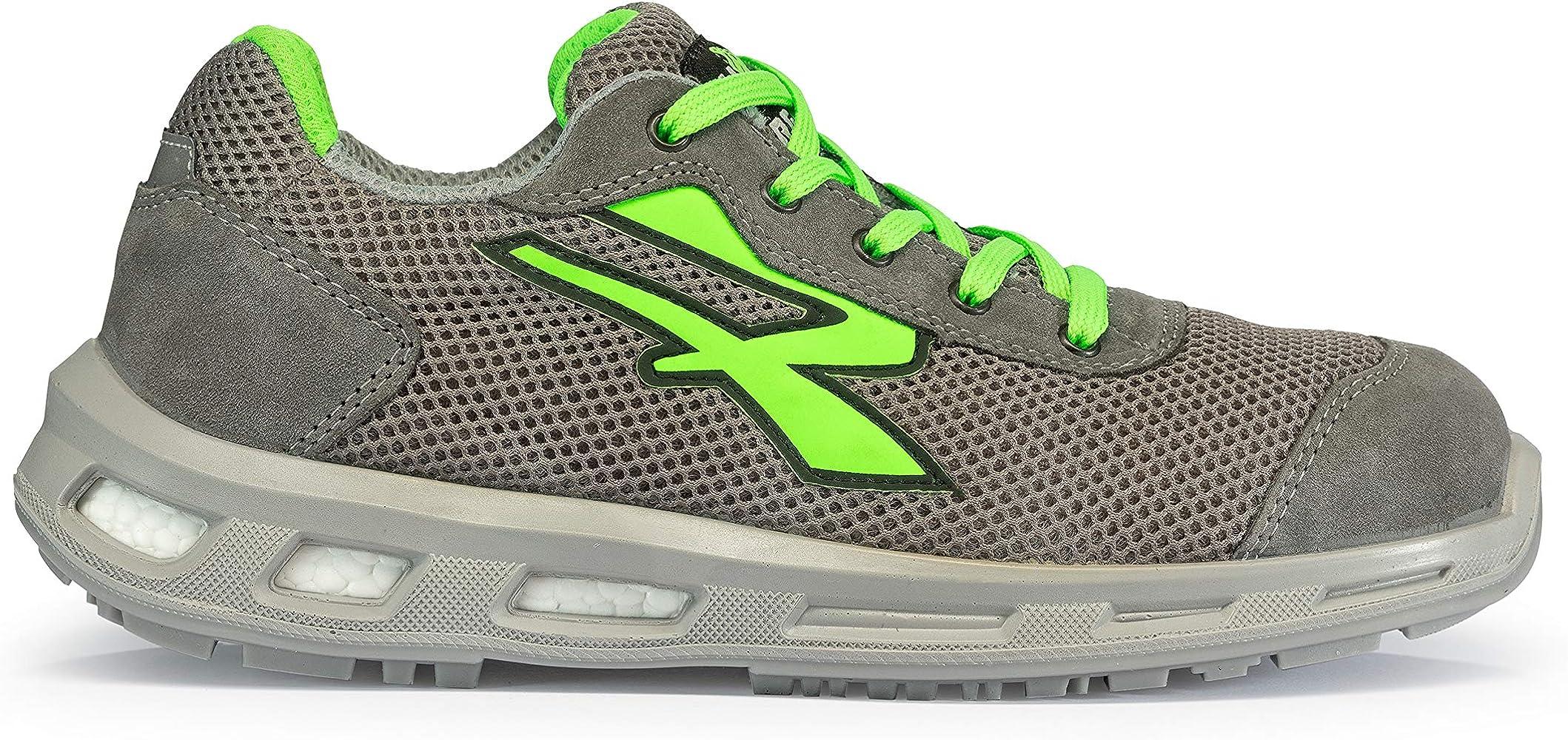 U-POWER Summer S1p SRC, Zapatos de Seguridad Unisex Adulto, Verde ...