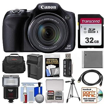 Amazon.com: Canon PowerShot SX530 HS WiFi Cámara Digital Con ...
