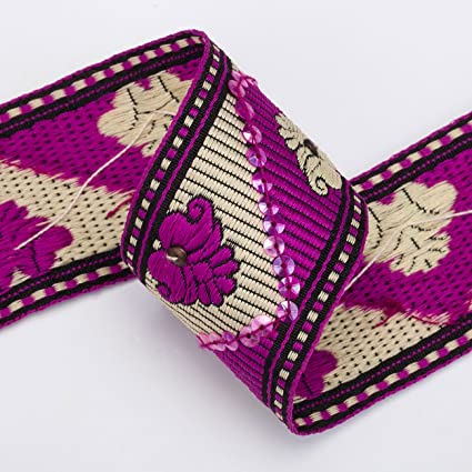 Amazon Neotrim Indian Sari Salwar Kameez Sequin Embroidery