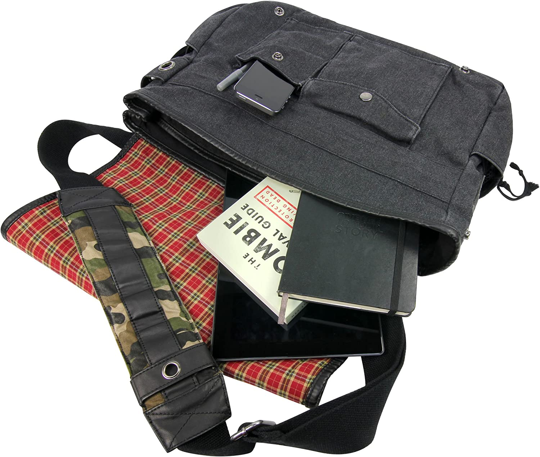 Walking Dead Daryl Wings Messenger Bag Fatigue Green