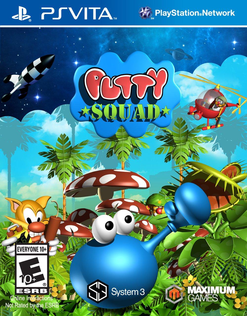 Putty Squad - PlayStation Vita